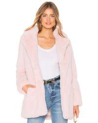 MAJORELLE - Amora Coat In Pink - Lyst