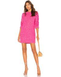 37928b08c8 Free People Bridgette Mini Dress - Berry Combo in Purple - Lyst