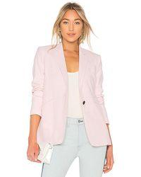 Rag & Bone - Ridley Blazer In Pink - Lyst