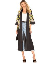 House of Harlow 1960 - X Revolve Phuket Bed Jacket In Black - Lyst