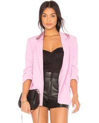 Bardot - Tuck Sleeve Blazer - Lyst