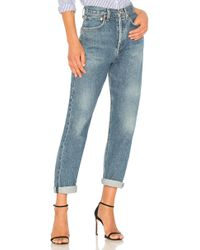 Agolde - 90's Mid Rise Loose Fit - Lyst