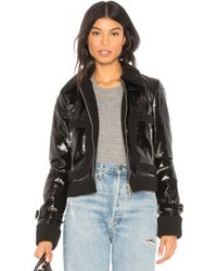 Rebecca Minkoff - Corinna Jacket With Faux Fur Trim - Lyst