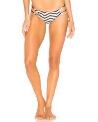 Luli Fama - Varadero Bikini Bottom In Navy - Lyst