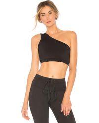 Strut-this - Ruby Sports Bra In Black - Lyst