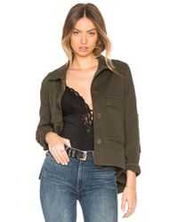 James Perse - Utility Trapeze Jacket - Lyst