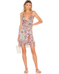 Indah - Lorne Batik Crochet Mini Dress - Lyst