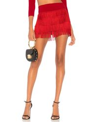 Norma Kamali - Fringe All Over Short - Lyst