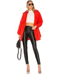 Lovers + Friends - X Revolve Calla Lily Belted Puffer In Red - Lyst