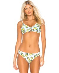 dc27b57973 Nanette Lepore Swim Super Fly Enchantress Bikini Top in Blue - Lyst