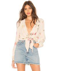 Capulet - Daria Bodysuit In Cream - Lyst