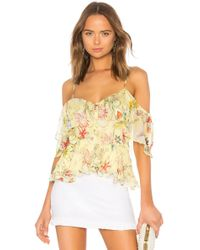 Parker - Remedy Top In Yellow - Lyst