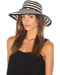 L*Space - Lewis Stripe Roll Up Hat L* - Lyst
