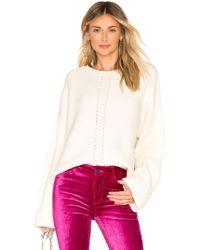 Splendid - Sedona Sweater In Cream - Lyst