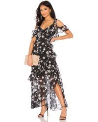 We Are Kindred - Pippa Ruffle Maxi Dress - Lyst