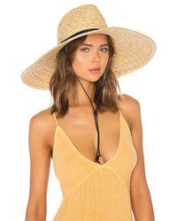 L*Space - L* Panama Lifeguard Hat In Tan. - Lyst