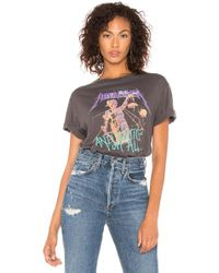Daydreamer - Metallica Justice For All Boyfriend Tee In Charcoal - Lyst