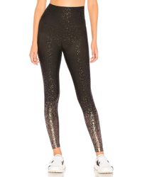 Beyond Yoga - Alloy Ombre High Waisted Midi Legging In Black - Lyst