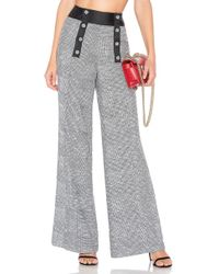 House of Harlow 1960 - X Revolve Mademoiselle Pant In Gray - Lyst