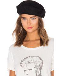 d3cbb3bbb67 Lyst - Tigerlily Shayna Floppy Hat in Black in Black
