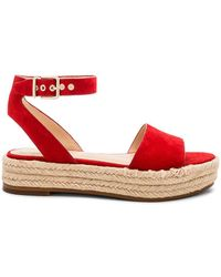 Vince Camuto - Kathalia Flatform In Red - Lyst