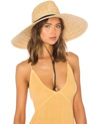 L*Space - L* Panama Lifeguard Hat In Tan. - Lyst