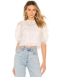 MILLY - Felicity Top - Lyst