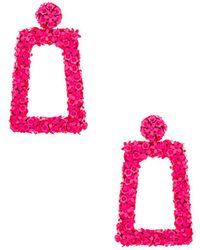 Sachin & Babi - Fleur Dusk Earrings In Pink. - Lyst