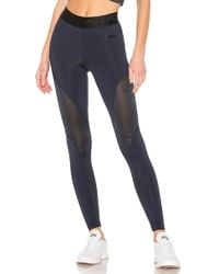 Nike - Pro Warm 7/8 Tights In Blue - Lyst