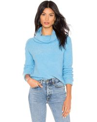 Free People - Stormy Pullover Sweater In Blue - Lyst