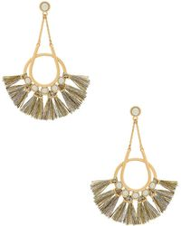 Rebecca Minkoff | Utopia Tassel Chandelier Earrings | Lyst