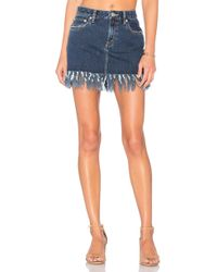 Tularosa - Aubrey 5 Pocket Mini Skirt - Lyst
