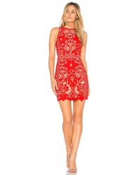 Endless Rose - X Revolve High Neck Floral Crochet Dress - Lyst