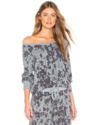 Splendid - Haut De Pyjama Long Sleeve - Lyst