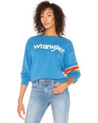 Wrangler - Logo Sweatshirt - Lyst
