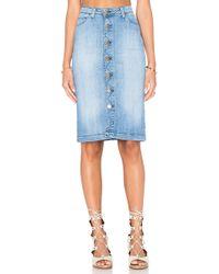 Acquaverde - Norma Pencil Skirt - Lyst