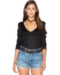 Feel The Piece - Mika Open Shoulder Pullover - Lyst