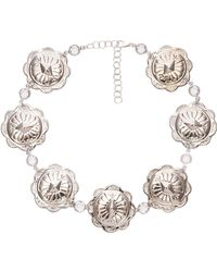 Frasier Sterling x REVOLVE Spellbound Choker in Metallic Silver uHU3W42