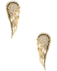House of Harlow 1960 - Aquila Wing Clip On Earrings - Lyst