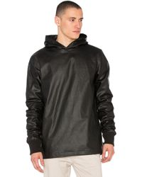 I Love Ugly - Waxed Hooded Sweater - Lyst