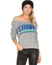Junk Food - Seahawks Sweatshirt - Lyst