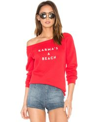MILLY - Karmas A Beach Sweatshirt - Lyst