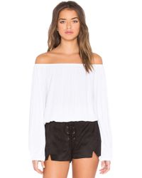 MLM Label - Dash Off Shoulder Top - Lyst