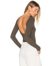 NYTT - Wide Rib Bodysuit - Lyst