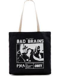 Obey - Bad Brains Pma Photo Tote - Lyst