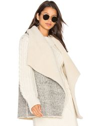 Soft Joie - Breese Vest With Faux Sherpa Lining - Lyst