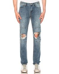 Stampd - Relaxed Panel Jeans - Lyst