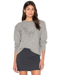 Tejido | Alpaca Fringe Sweater | Lyst