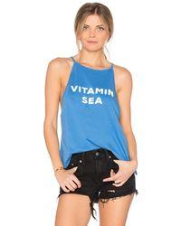 The Laundry Room   Vitamin Sea High Neck Tank   Lyst