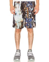 Undefeated - Distorted Mesh Shorts - Lyst